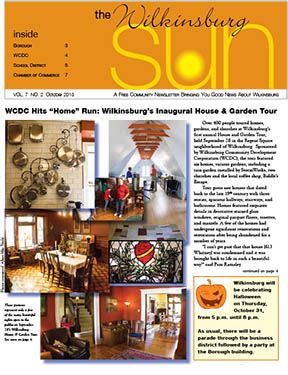 The October Wilkinsburg Sun Is Here!